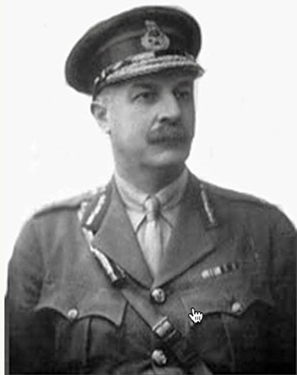 Photograph of Major General Victory Williams