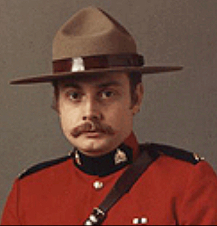 Photograph of RCMP Constable Bruce Denniston.