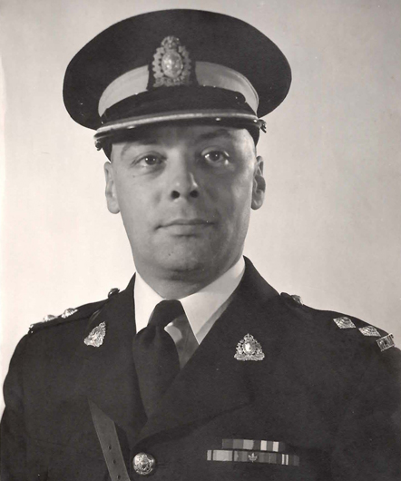 Photograph of Deputy Commissioner Emil Carriere (Source of photo - Raoul Carriere).