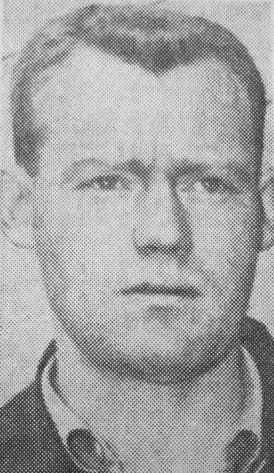 Photograph of RCMP Corporal George Hawkins (Source of photo - Mildred Stolarshy)