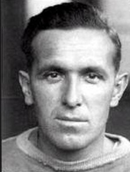 Photograph of Francis Boucher (Reg.# ) as a member of the New York Rangers hockey team.