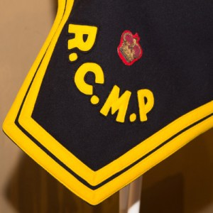 Photograph of an RCMP Officer's Shamrock - provided by Veteran Donald Klancher.