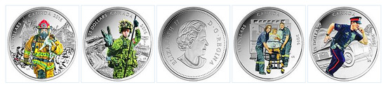 Canada Heroes Coin Set