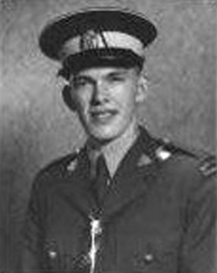 Photograph of RCMP Sergeant K Morley Laughland (Reg.#17368).