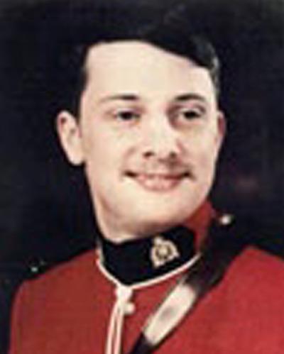 Photograph of Constable Christopher Collin Riglar (Reg.#33607)