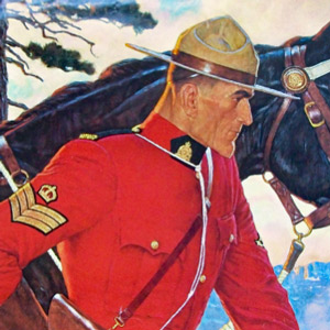 Arnold Friberg's RCMP painting
