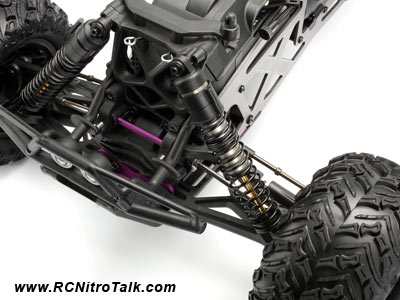 HPI Savage X Modifications : Big Bore Shocks