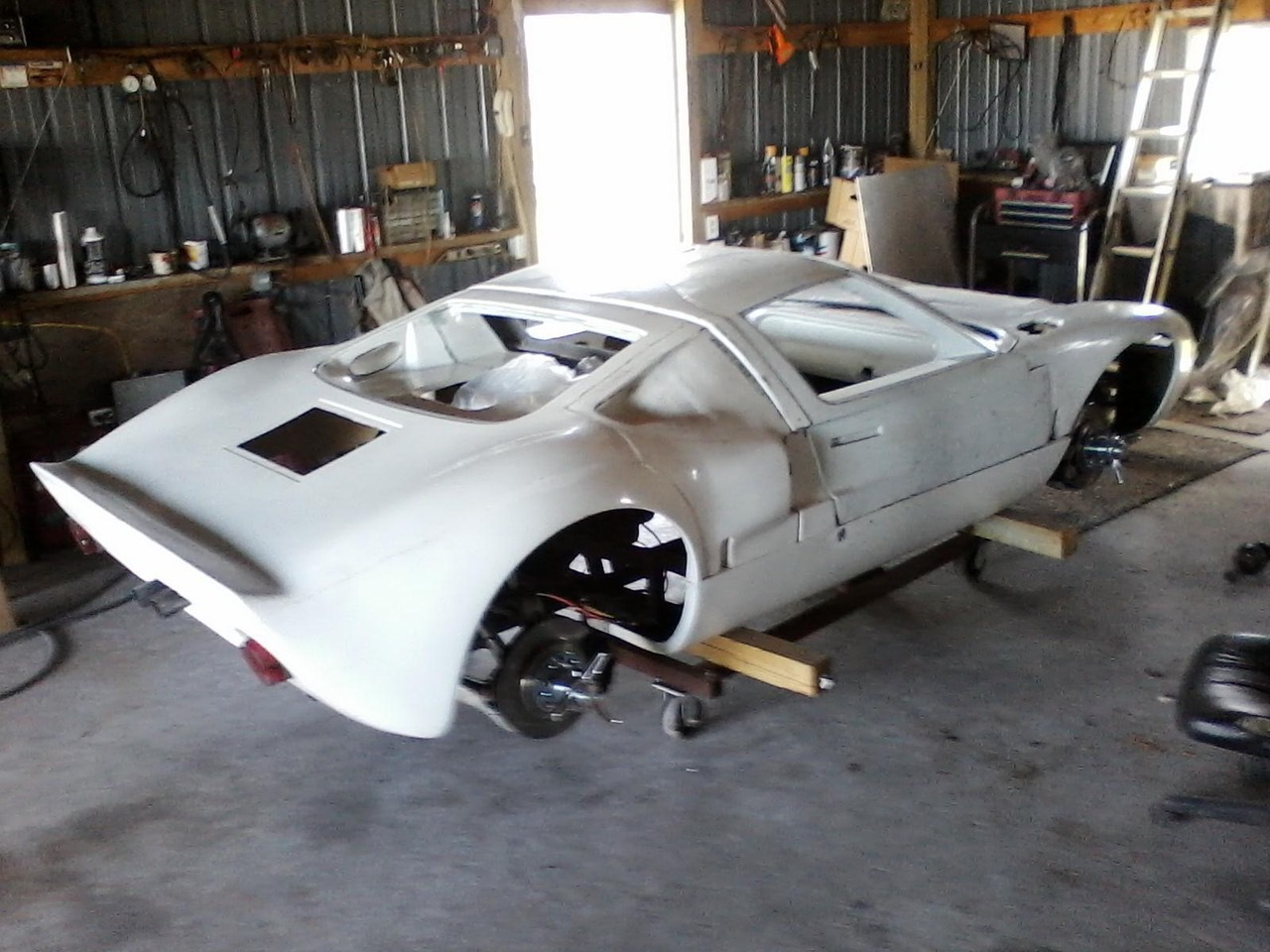 Active Power Ford Gt40 Replica For Sale Reincarnation