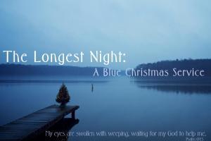 The Longest Night: A Blue Christmas Service