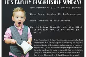 Family Discipleship Service