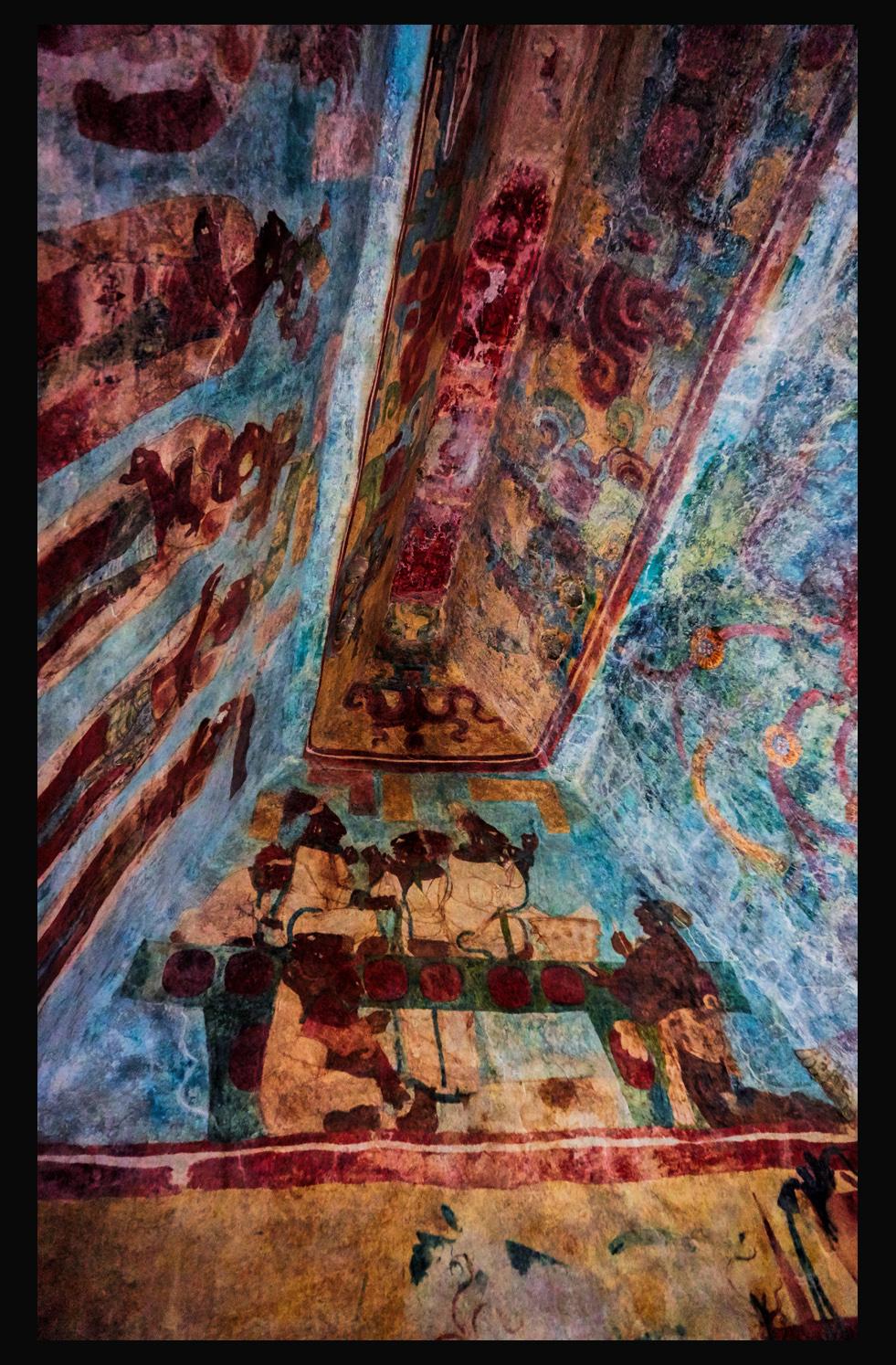 The Amazing Mayan Murals Of Bonampak Rcquinn Com