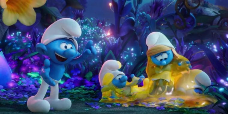 A Quadruple Feature That Only Starts Blue Smurfs The Lost Village Going In Style Your Name And The Case For Christ River Cities Reader