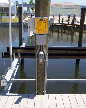 Fort Lauderdale Boat Dock Electrical Wiring Power And Lighting