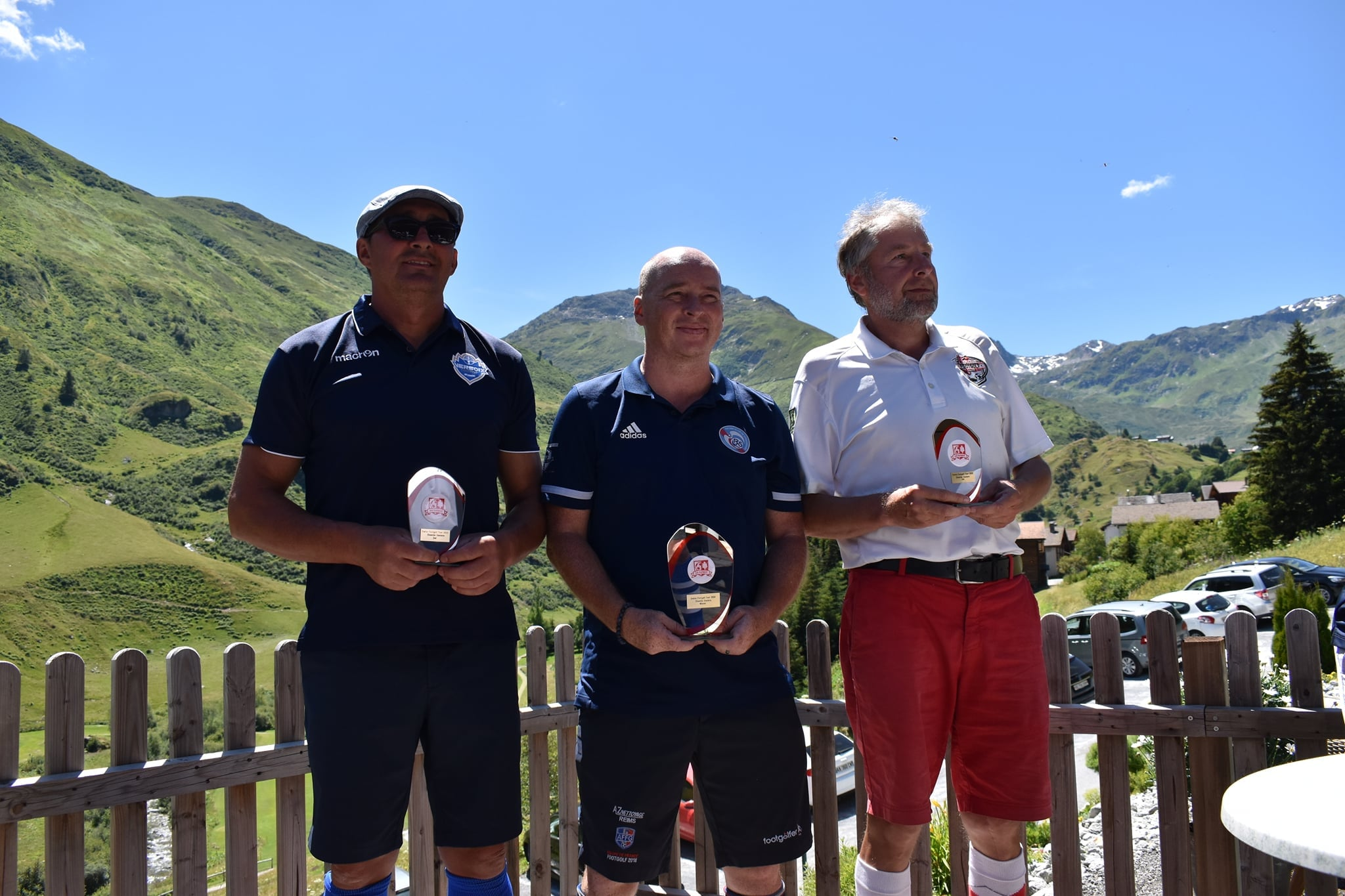 SWISS FOOTGOLF TOUR DISENTIS et ARGENTINA OPEN