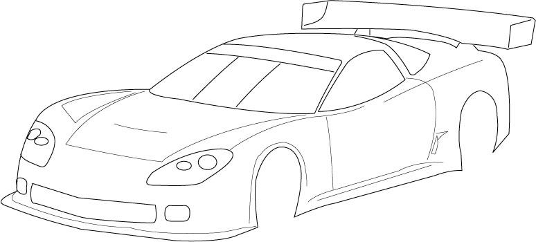 Race car templates blank maxwellsz