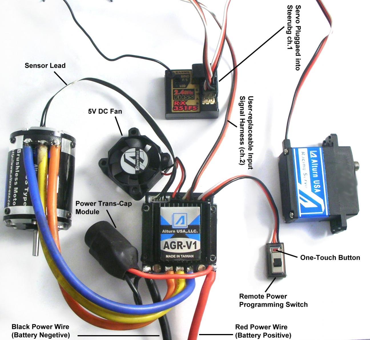 wrg 6981 brushless esc wiring diagram. Black Bedroom Furniture Sets. Home Design Ideas
