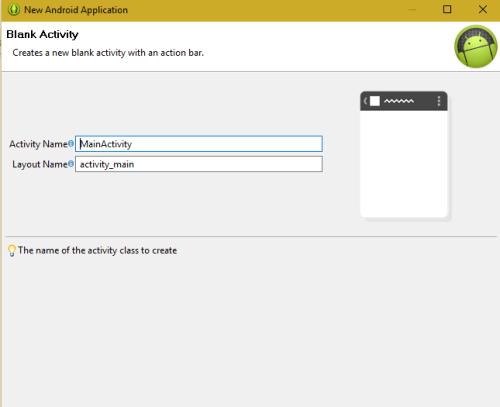 Android App Development setup