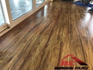 Prevent hardwood fading