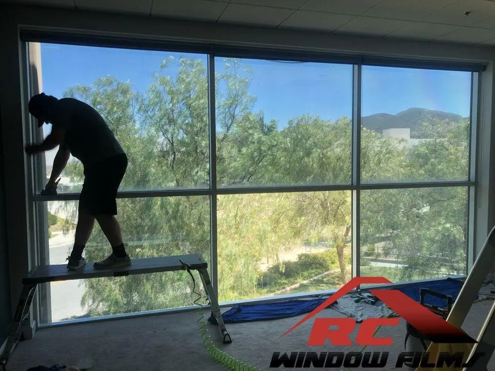 Silver 20 - high heat rejection office window tint