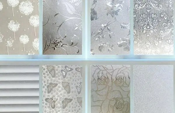 Home Decorative Window Film and Frosted Window Film for Privacy