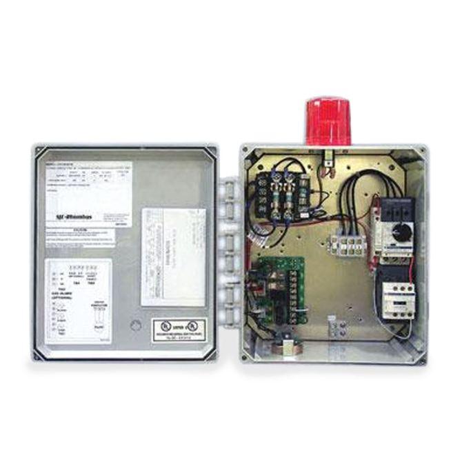 sjerhombus model 312 3phase 208/240/480/600v simplex motor contactor  control panel