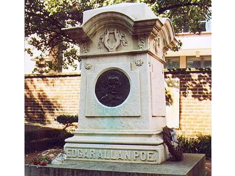 Pay your respects at Edgar Allan Poe's grave