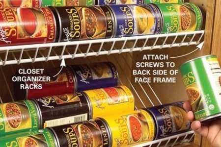 Kitchen Storage Solutions  How to Declutter Your Pantry and Cabinets     Use wire closet racks in kitchen cabinets