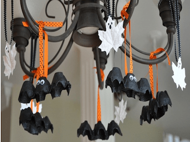 Hanging Bats and Ghosts