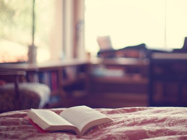 Reading can melt away stress.