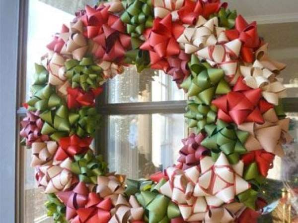 Christmas Bow Wreath