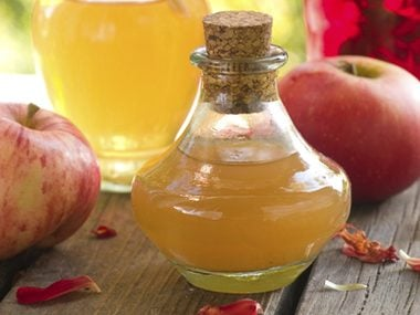 Whip up an apple cider vinegar mask