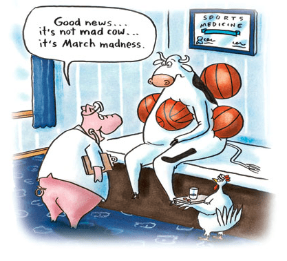 Antique Humor Cartoon Illustration Fight Stock Illustration
