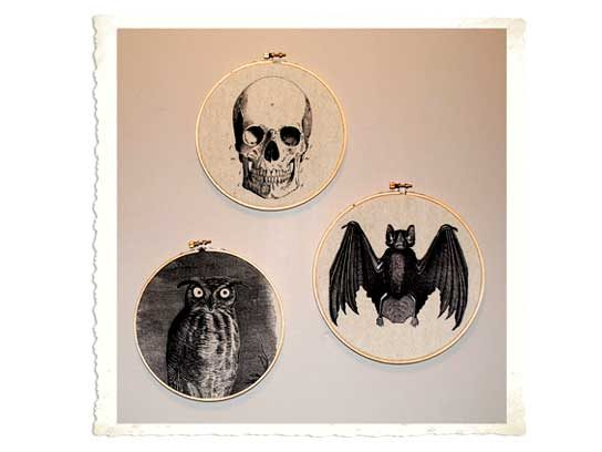 Creepy Wall Hangings