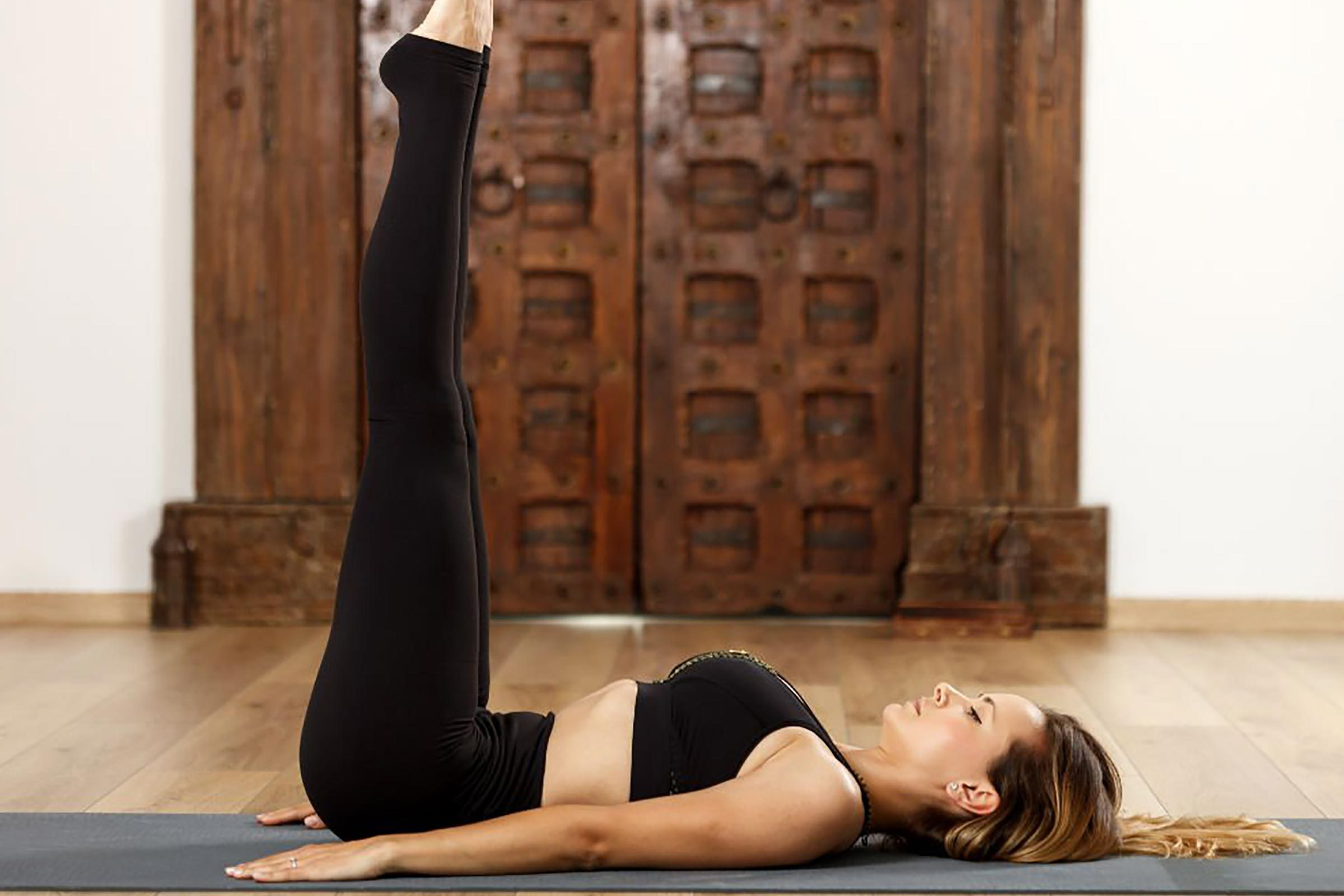 6 Easy Yoga Poses For A Better Night S Sleep