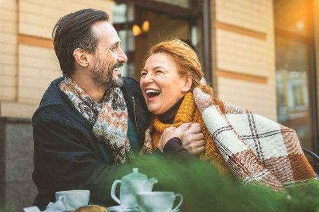 Couple-laughing