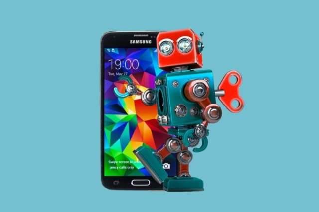 cellphone-robot