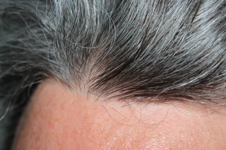 Gray hair men