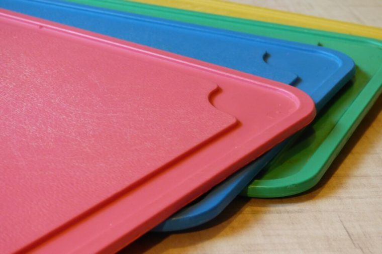 colored cutting boards