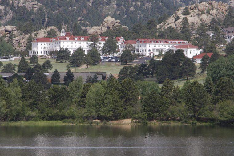 Stanley Hotel in Estes Park Colorado Rocky Mountain National Park