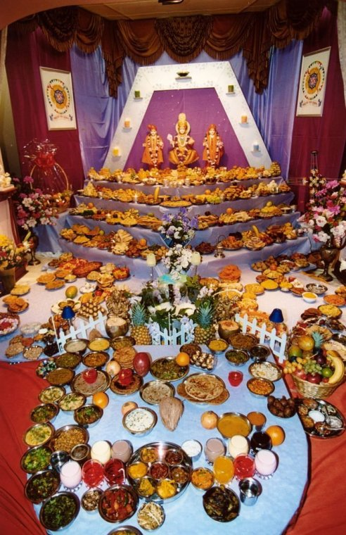 Food at Diwali, Hindu Festival