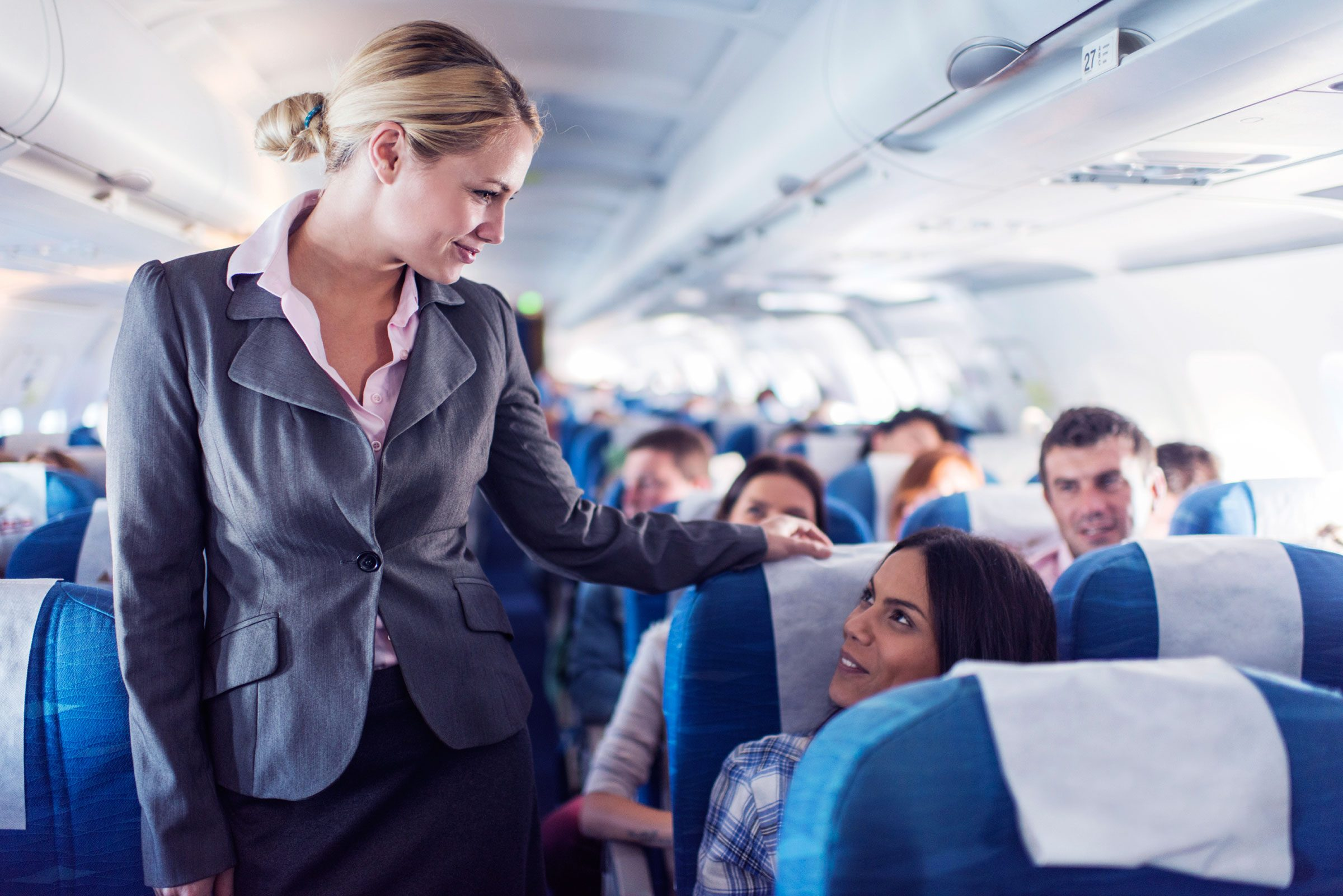 2. Yes, passengers are incredibly rude...