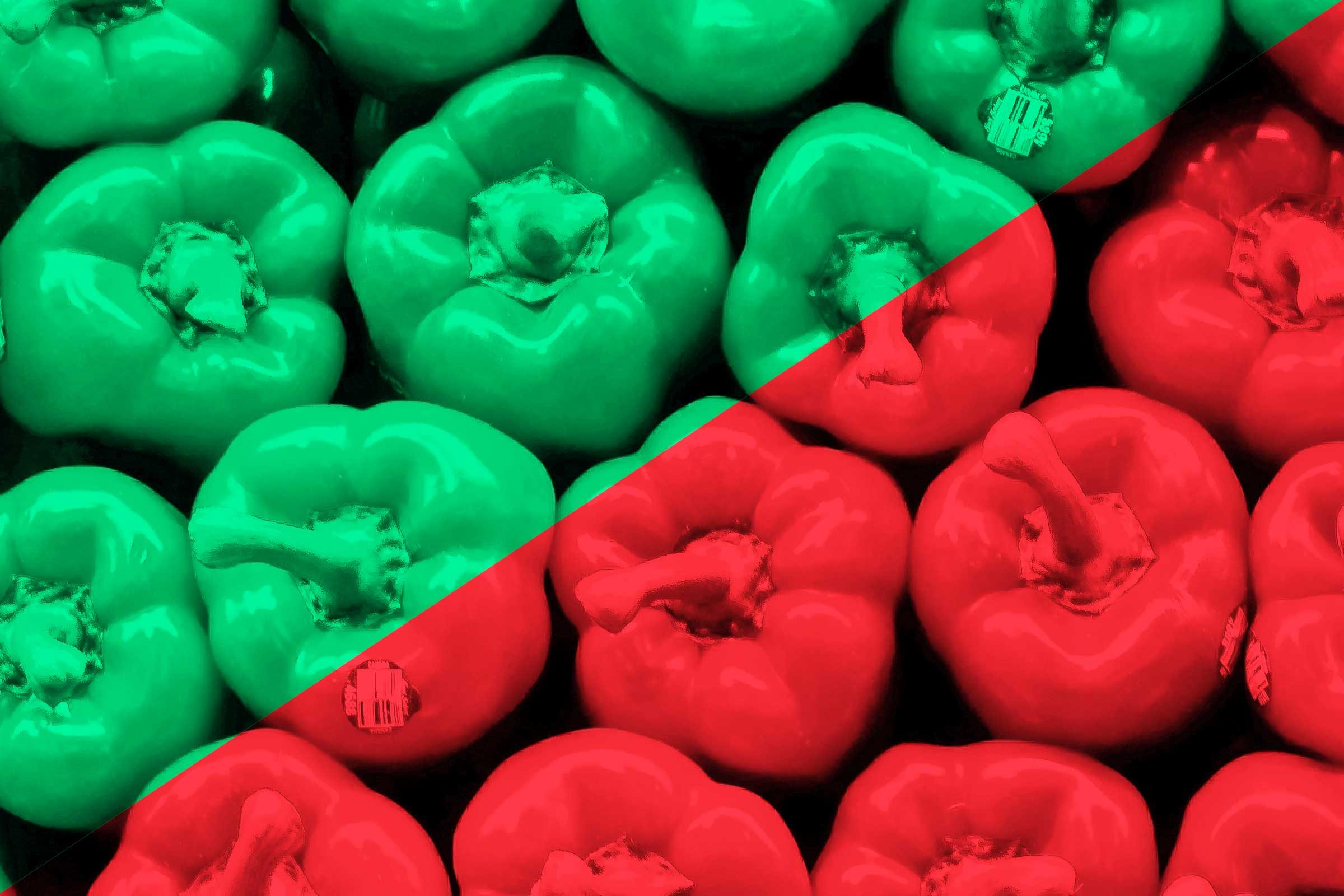 What Different Food Colors Actually Mean