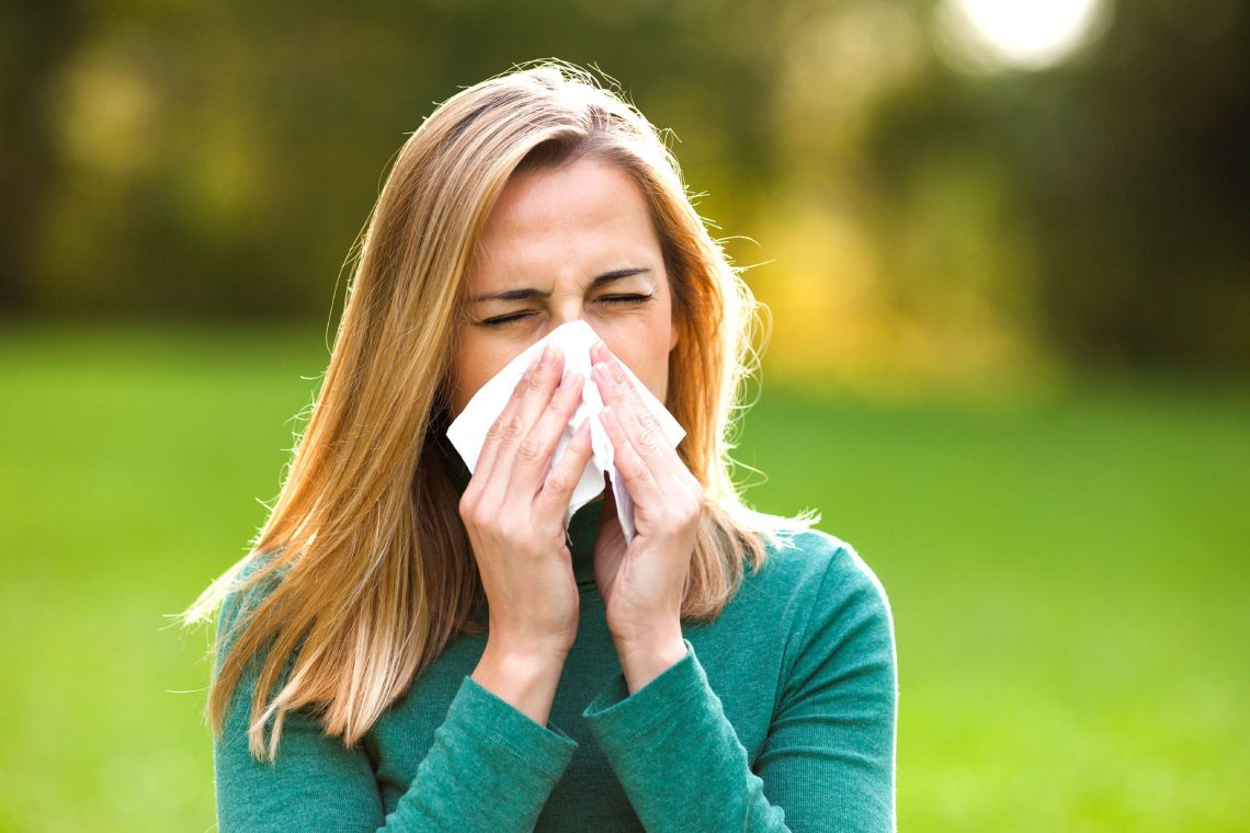 Seasonal allergies are just seasonal—so this has to stop soon ...