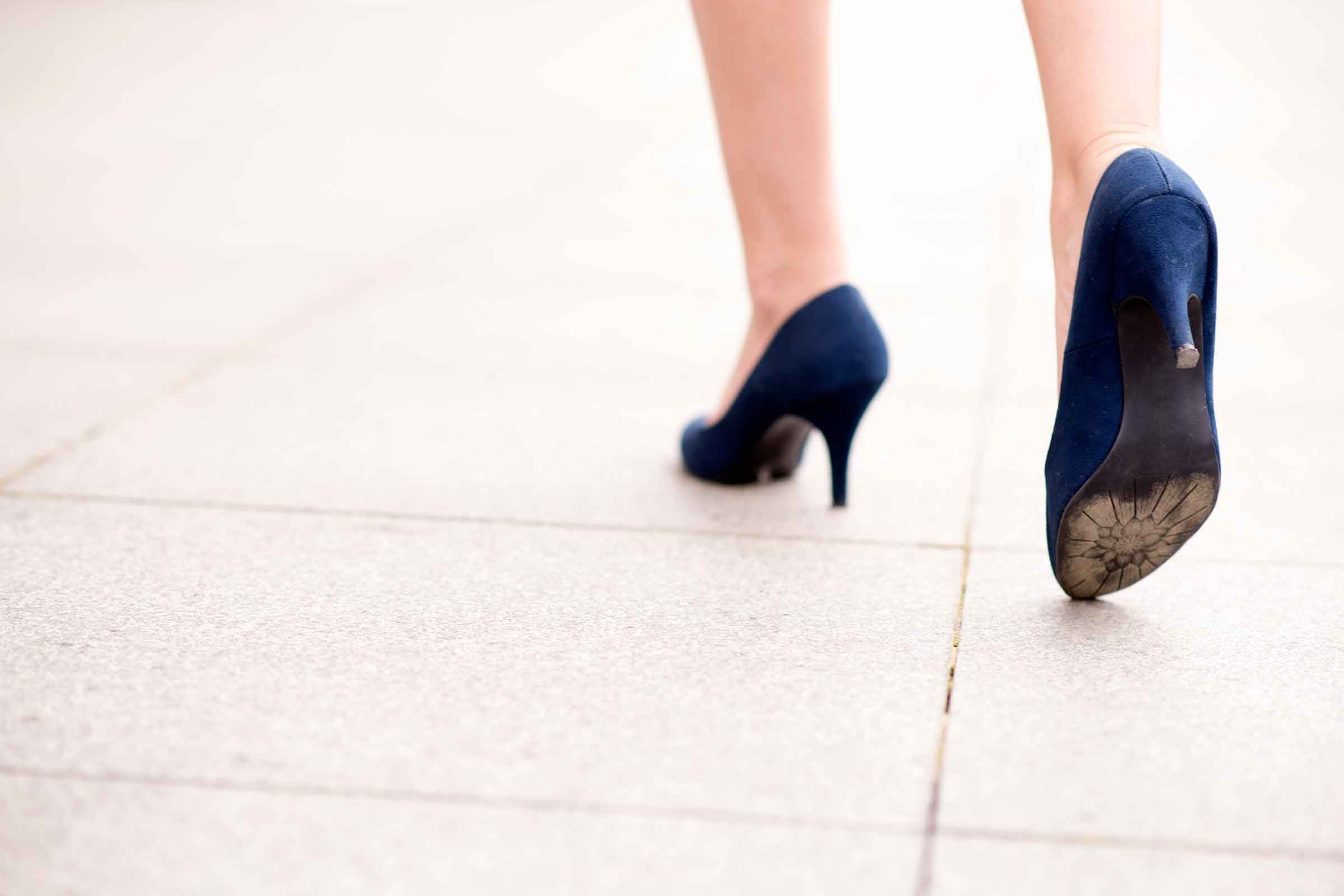 Heels decrease your ankle strength over time