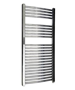 CHROME ELECTRIC TOWEL RAIL 250 WATT KUDOX KTR250STDCHR