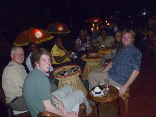 Project work in Tanzania with Jay Buckey and John Mascari