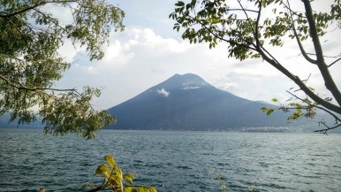 View of the San Pedro Volcano from San Marcos.
