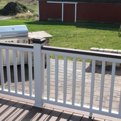 Built In Grill Patio & Remote Fire Pit