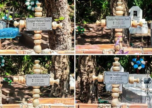 Especial Chiquitanos - cemitério - cruz - morte - comunidade