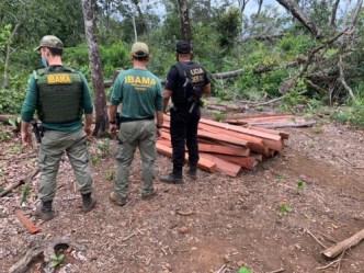Operação Polícia Federal Terra Indígena Urubu Branco